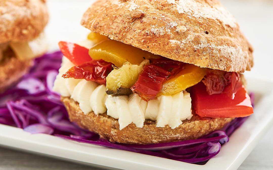 Pane Rusticano con verdure grigliate